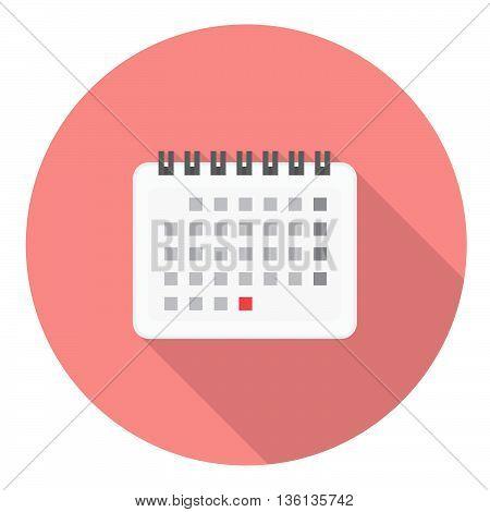 Calendar Page Flat Icon