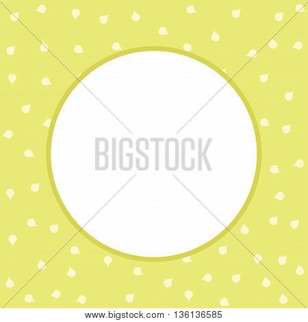 Pastel floral template for greeting card and wedding invitation.