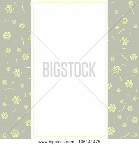 Birthday card greeting card - template cute simple design