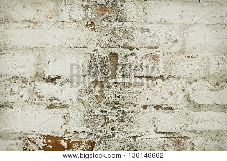old wall with cracks background