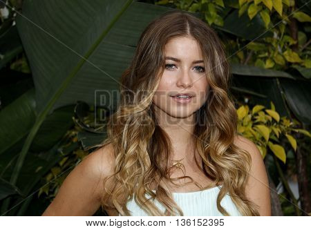 Sofia Reyes at the Los Angeles premiere of 'The Legend Of Tarzan' held at the Dolby Theatre in Hollywood, USA on June 27, 2016.