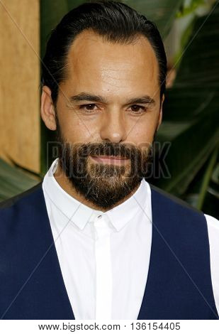 Casper Crump at the Los Angeles premiere of 'The Legend Of Tarzan' held at the Dolby Theatre in Hollywood, USA on June 27, 2016.