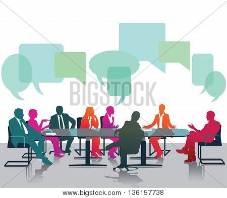 Opinions and discussions, opinions, debate, meeting, consulting,