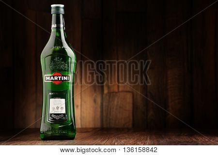 Bottle Of Martini Dry