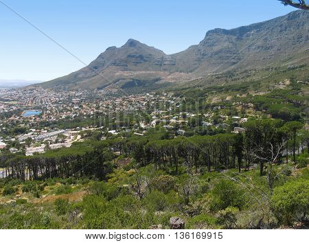 Table Mountain, Cape Town South Africa 01