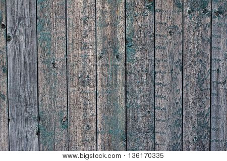 Wooden Texture Topic: Old Wooden Boards Painted Blue