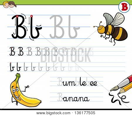 How To Write Letter B