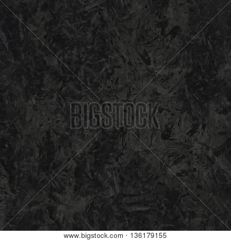 2D illustration of a black brush strokes background