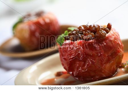 Apple With Honey And Plum
