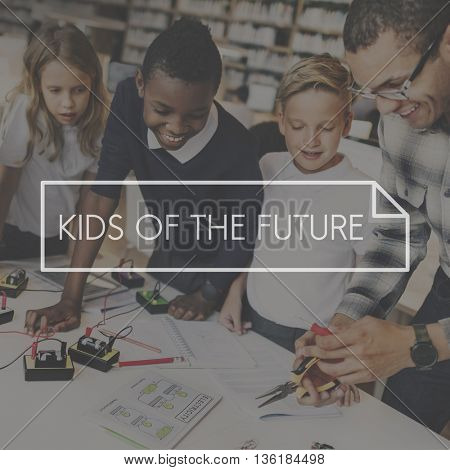 Kids of the Future Generation the Way Forward Concept
