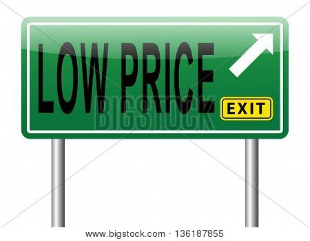 low product price sign road sign billboard