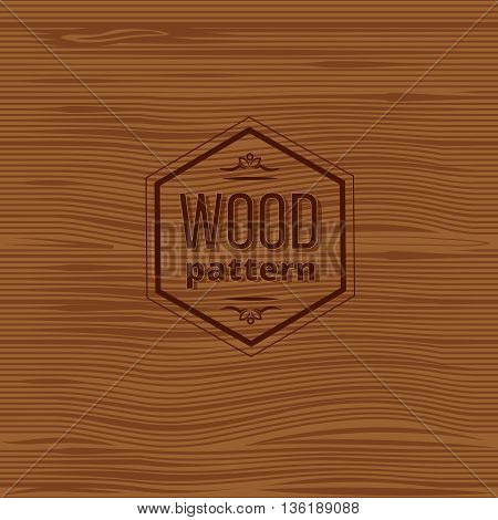 Seamless wood vector pattern. Old wooden panels retro vintage pattern