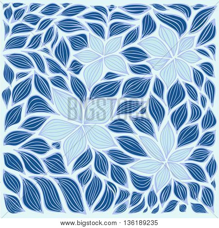 stock vector abstract leaf and flowers elements set. summer design elements for template.
