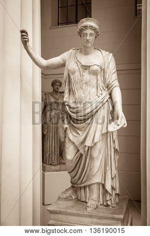 Hera the ancient Greek goddess