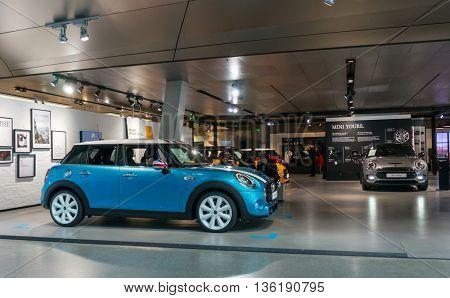 Munich, Germany - March 10, 2016: BMW Headquarters in Munich