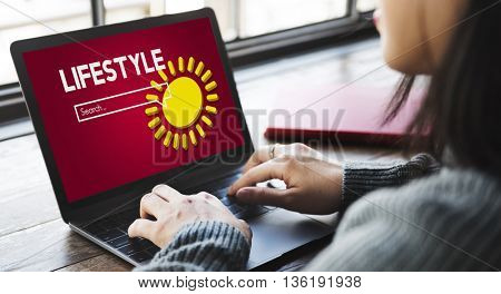 Lifestyle Traveler Vacation Holiday Trip Concept