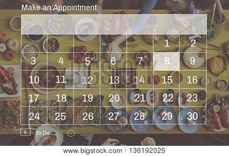 Calendar Plan Planning Organizer Planner Concept