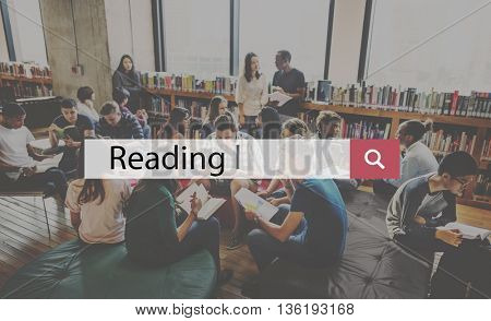 Reading Education Improvement Intelligence Concept