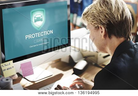 Protection Privacy Policy Private Concept