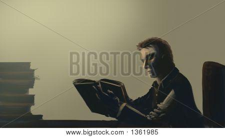 Reading Person 1