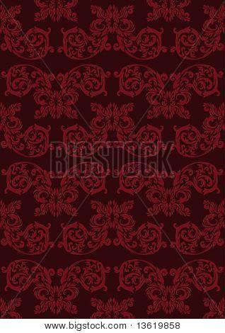 vintage maroon wallpaper