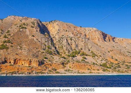 South Coast Of Crete Near Agia Roumeli, Greece