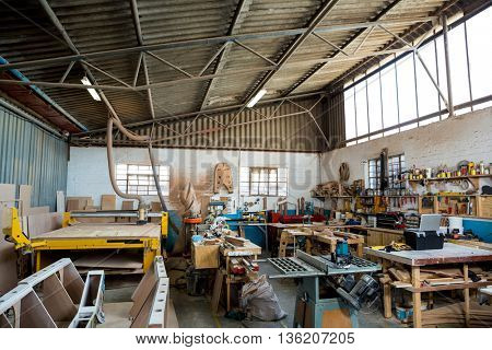 Image of carpenters workshop