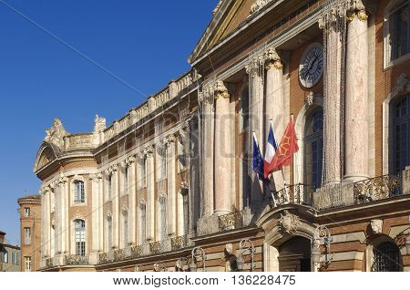 City Hall of Toulouse, Le Capitole Square, France
