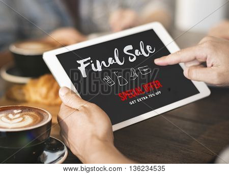 Sales Promotion Discount Shopaholics Shopping Concept