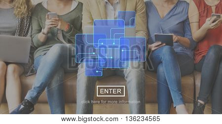 Integrated Circuit Modern Digital Technology Concept