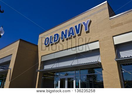Indianapolis - Circa June 2016: Old Navy Retail Mall Location. Old Navy is a Division of Gap Inc. III