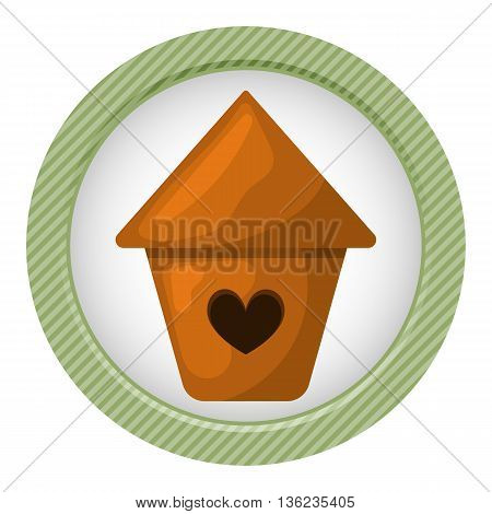 Nesting Box Colorful Icon