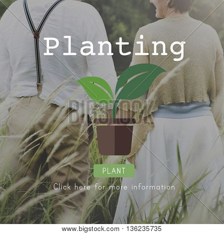 Planting Trees Ecology Environmental Conservation Growing Concept