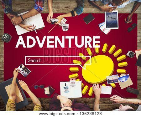 Adventure Explore Journey Travel Concept