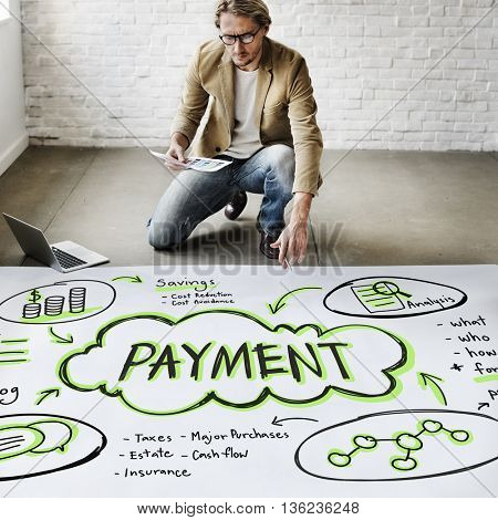 Payment Pay Retail Transaction Cost Concept