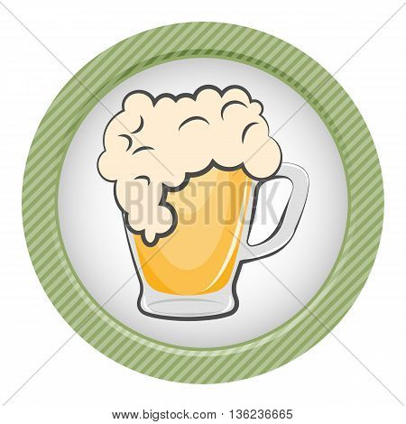 Mug Of Beer Colorful Icon