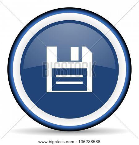 disk round glossy icon, modern design web element