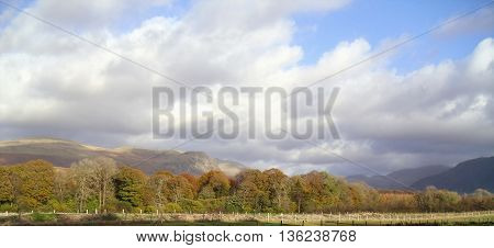 Cloudy Landscape in the English Lake District