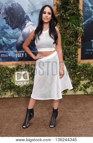 LOS ANGELES - JUN 27:  Emily Tosta arrives to the