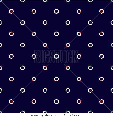 eamless vector pattern with lifebuoys. Seamless pattern can be used for wallpaper pattern fills web page background surface textures.