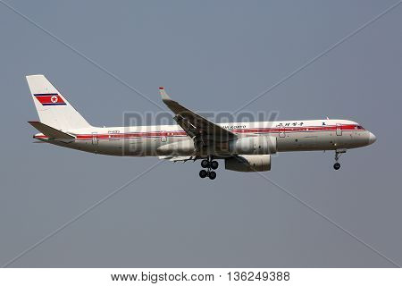 Air Koryo Tupolev Tu-204 Airplane