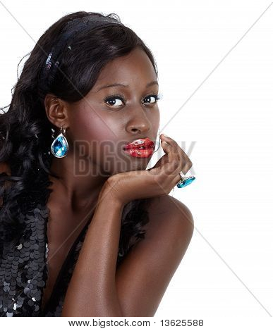 Beautiful African American Woman