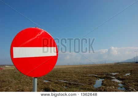 Interdiction Sign
