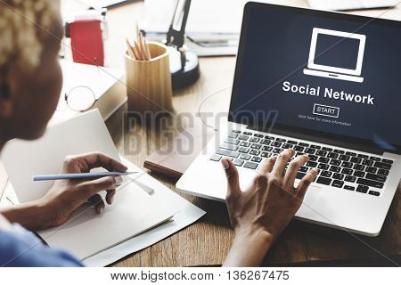 Social Network Networking Connection Internet Concept