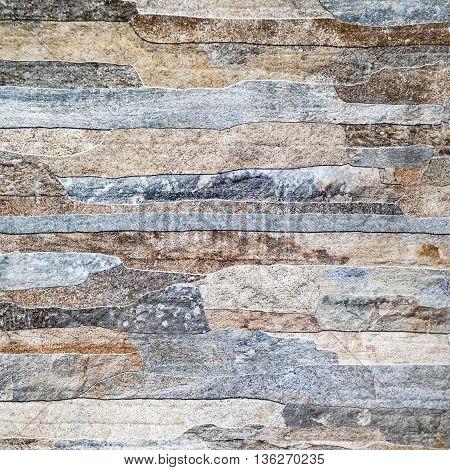 Stone texture background, Stone Cladding grainy details.