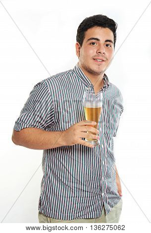 Guy Hold Beer