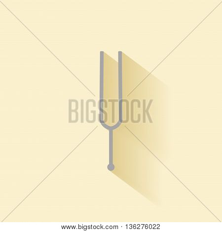 abstract music instrument on a special background