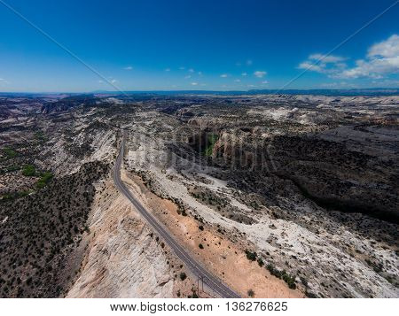 Scenic Byway Utah Route 12.escalante To Boulder  The Hogback