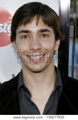 Justin Long at the World premiere of 'The Break-Up' held at the Mann Village Theatre in Westwood,  USA on May 22, 2006.