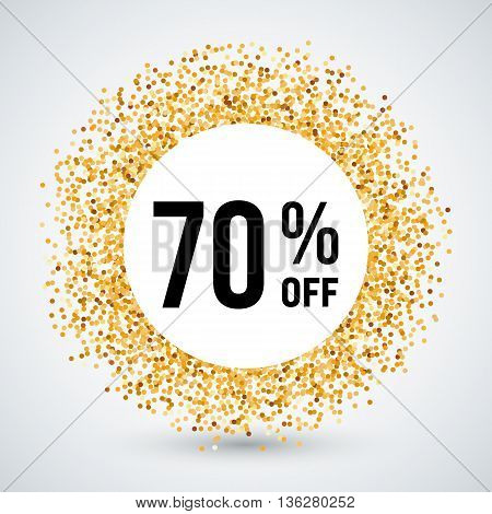 Golden Circle Frame with Discount Seventy Percent